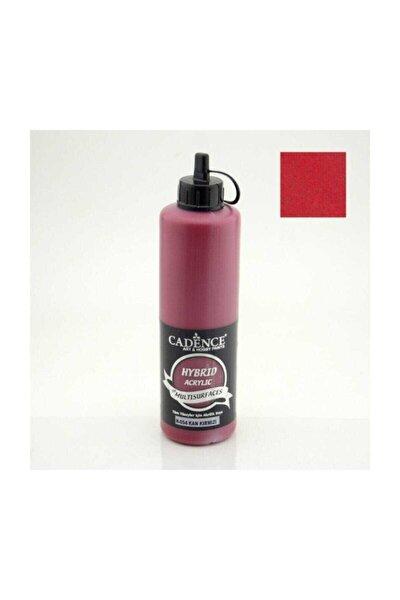 Hybrid Multisurface Akrilik Boya 500 ml. H-054 Kan Kırmızı