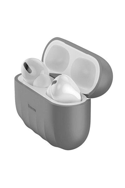 Shell Pattern Silica Gel Apple Ipods Pro Kaymaz Silikon Kılıf