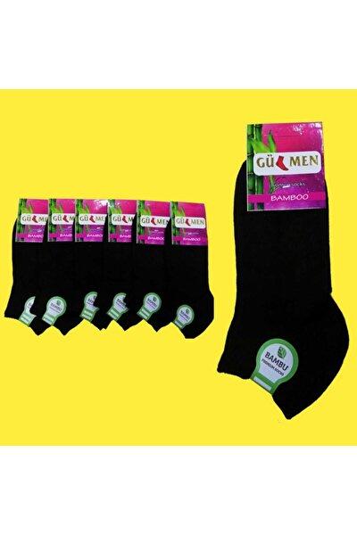 6'lı Bambu Bayan Dikişsiz Patik Çorap