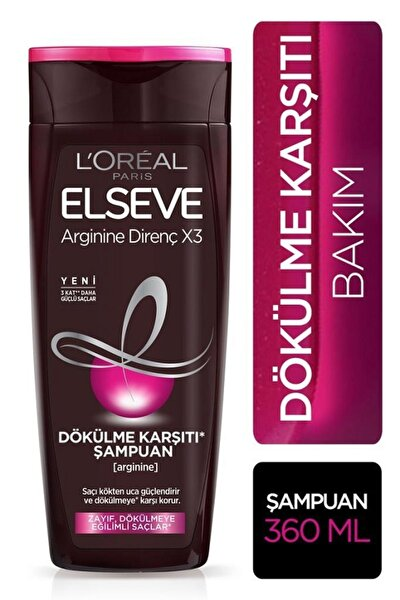 Arginine Saç Dökülme Karşıtı Şampuan 360 ml