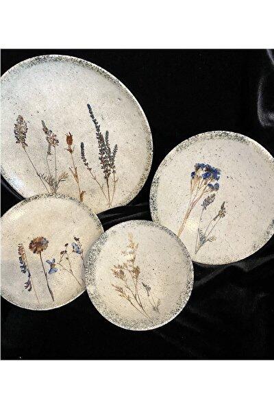 Alumılıte E Dry Flower 24 Parça 6 Kişilik Yemek Takımı