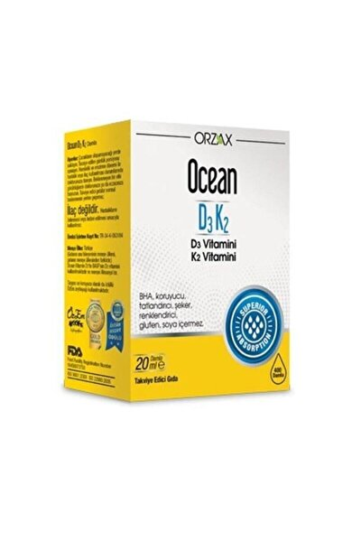 Vitamin D3 K2 Oral Drops 20ml