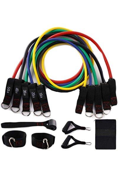 11 Parça Latex Direnç Lastiği Seti Kapı Arkası Direnç Bandı