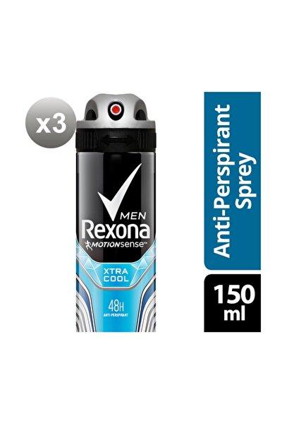 Erkek Deodorant Sprey Xtra Cool 150 ml X3