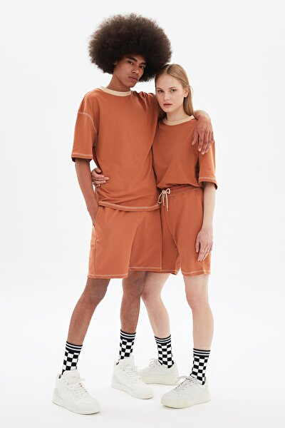 Camel Unisex Oversize T-Shirt TMNSS21TS3382
