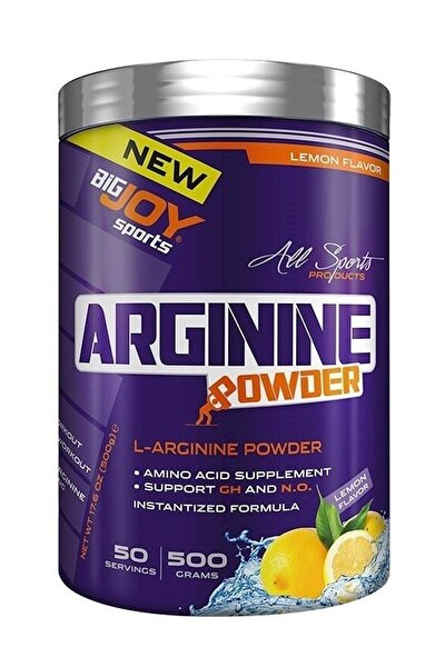 Bigjoy Sports Arginine Powder Limon 500g