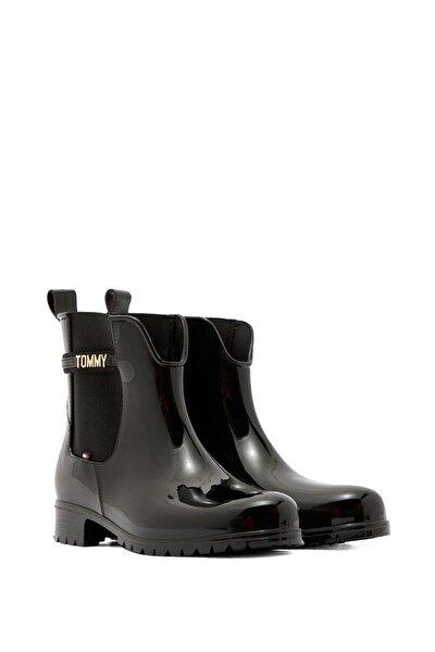 Kadın Block Branding Rainboot Kadın Yağmur Botu Fw0fw05202 Siyah