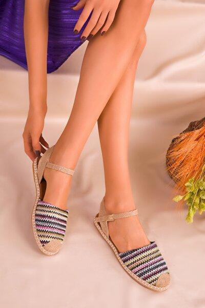Siyah-Renkli Kadın Sandalet 14790