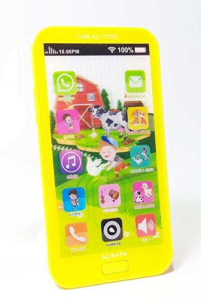 Oyuncak Dokunmatik Cep Telefonu Türkçe Sesli 12 Fonksiyonlu