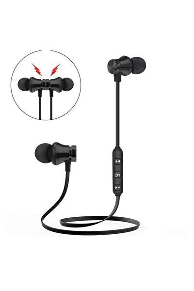 Metal Gövde Mıknatıslı Bluetooth 5.0 100mah Batarya Kulakiçi Kulaklık