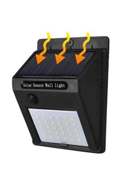 Solar Güneş Enerjili Şarj Olabilen 20 Ledli Bahçe Lambası Gece Gündüz Sensörlü