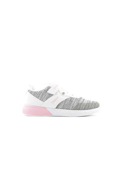 24812 A Filet Kız Çocuk Spor Ayakkabı-beyaz Pembe