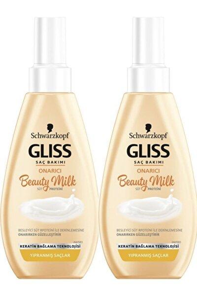 Beauty Milk - Onarıcı Saç Bakım Sütü 2'li
