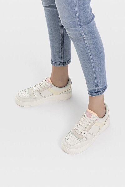 Kadın Kombine Şeritli Spor Ayakkabı 19016770