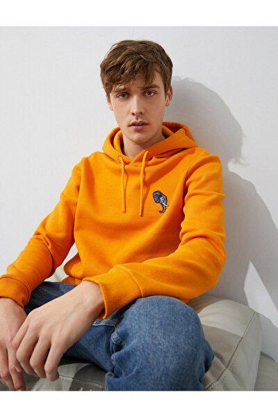 Erkek Turuncu Sweatshirt 1yam71485lk