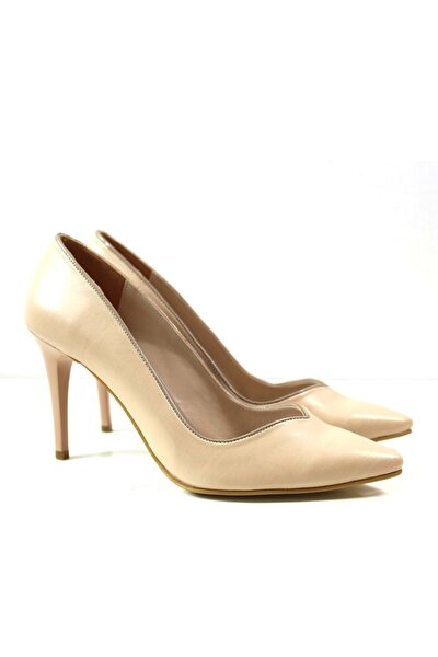 Alice Kadın Topuklu Ayakkabı 27108 - Ten - 37