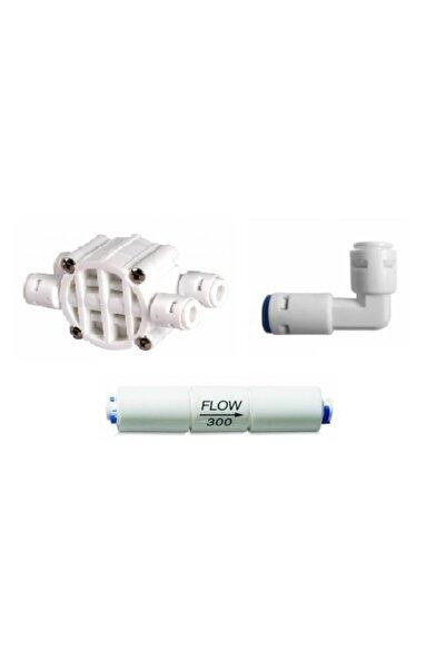 Su Arıtma Cihazı Yenileme Kiti Shut Off - Flow - Check Valf Quick