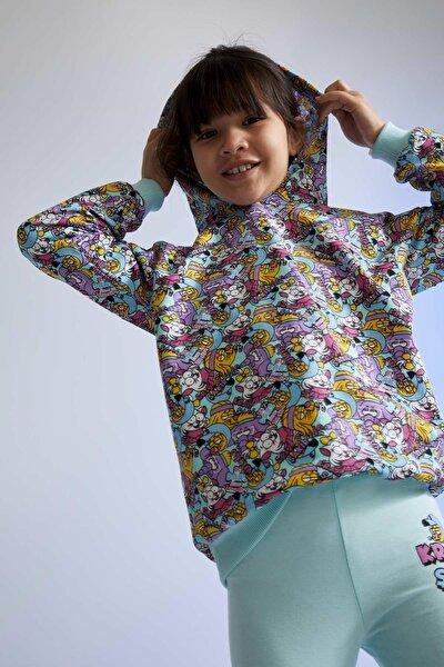 Kız Çocuk Kral Şakir Lisanslı Sweatshirt