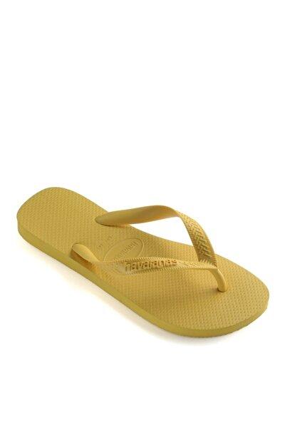 Kadın Sarı Plaj Terliği