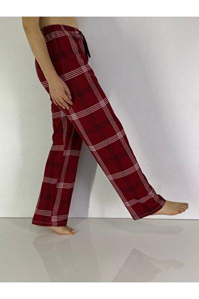 Kadın Bordo Pijama Altı