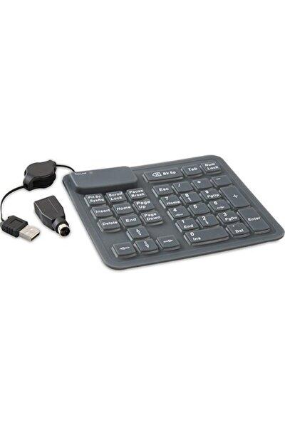 Sk-1086 Usb/ps/2 Katlanabilir Combo Numerik Klavye
