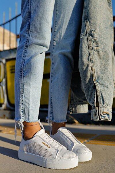 Ch011 Bt Kadın Ayakkabı Beyaz