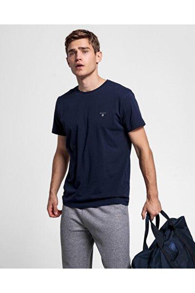 Erkek Lacivert Regular Fit T-shirt