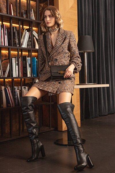 Kadın Kahverengi Ceket
