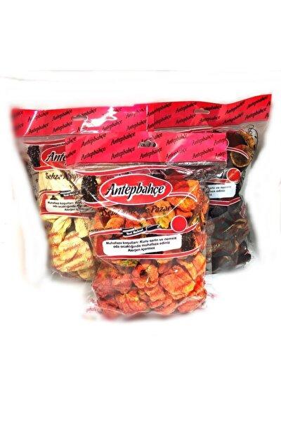 Dolmalık Kuru Patlıcan 50 Adet Tatlı Biber 50 Adet Kabak 50 Adet 3 Paket (15o Adet)