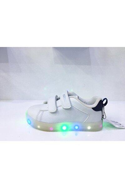 Unisex Çocuk Beyaz Yürüyüş Ayakkabısı