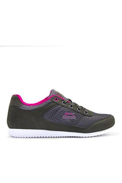 Kadın Fuşya Siyah Paloma Günlük Ayakkabı