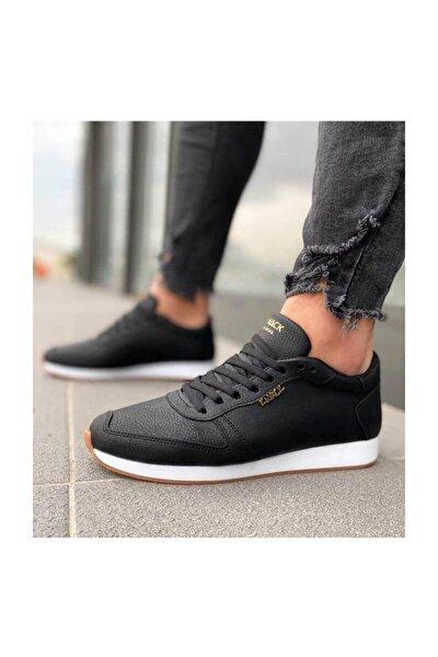 Erkek Siyah Günlük Ayakkabı