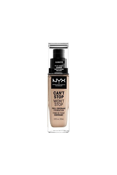 Fondöten - Can't Stop Won't Stop Full Coverage Foundation 02 Alabaster 30 ml 800897181086
