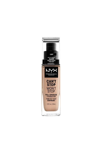 Fondöten - Can't Stop Won't Stop Full Coverage Foundation 05 Light 30 ml 800897157203