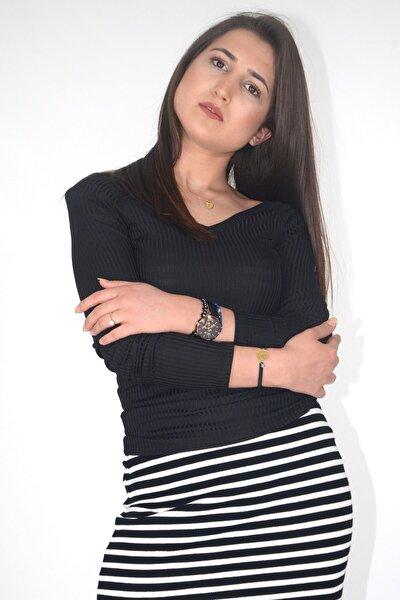 Kadın Bluz Onlmıla L/S V-Neck 15174510