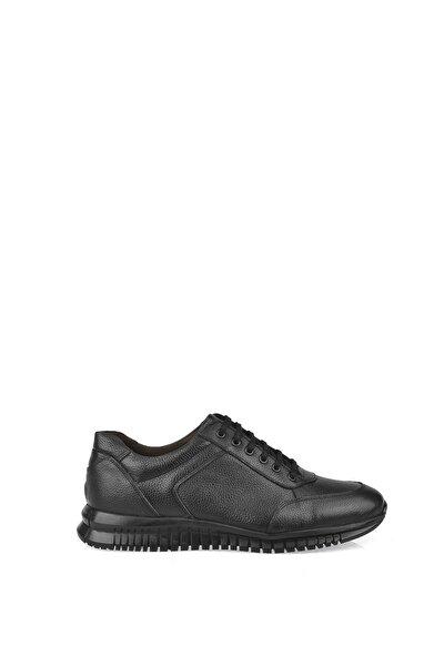 Erkek Siyah Hakiki Deri Ayakkabı 103423 101