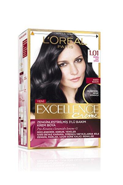 Excellence Saç Boyası 1.01 Siyah