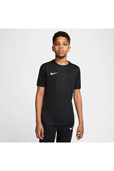 Erkek Çocuk Siyah Bv6741-010 Y Nk Dry Park Vıı Jsy Ss  Spor T-shirt