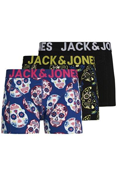 Jack Jones Jaccolorfull 3'lü Boxer 12171604