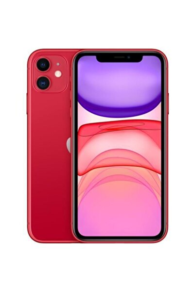 iPhone 11 64GB (PRODUCT)RED Cep Telefonu (Apple Türkiye Garantili) Aksesuarlı Kutu