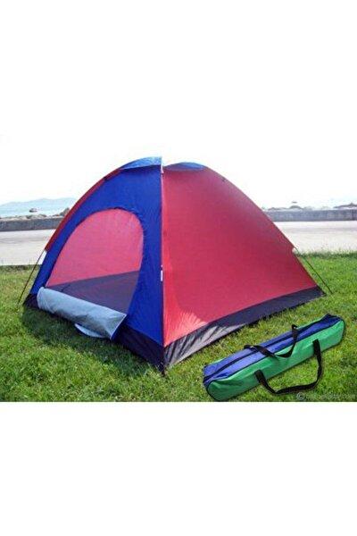 4 Kişilik Kamp Çadırı 200*200*135 Cm Kolay Kurulumlu 4 Kişilik Çadır