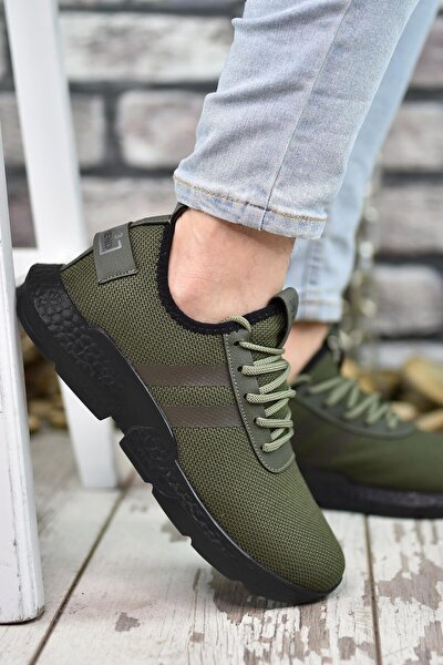 Haki Siyah Erkek Sneaker 00122051