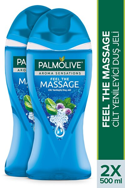 Aroma Sensations Feel The Massage Cilt Yenileyici Banyo ve Duş Jeli 500 ml x 2 Adet