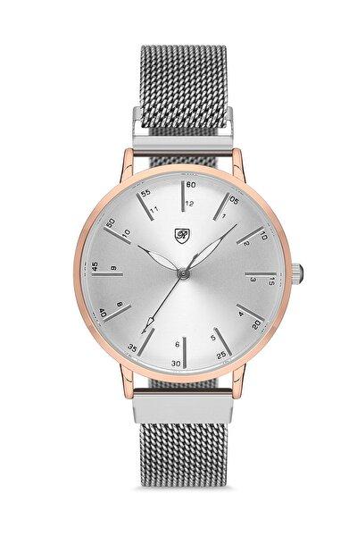 Kadın Bakır Gümüş Enjoy Colors Mıknatıs Kordon Kol Saati