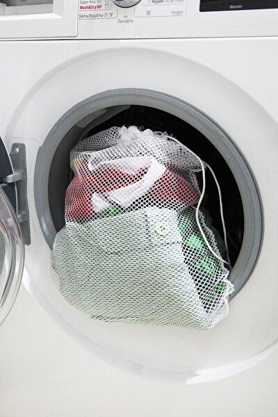 Beyaz Çamaşır Yıkama Filesi