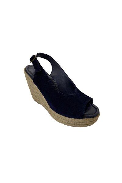 Hakiki Deri Kadın Lacivert Ayakkabı 4711545TBWNN