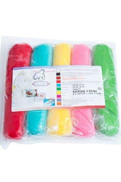 Dr Paste Şeker Hamuru 5 Renk Birarada