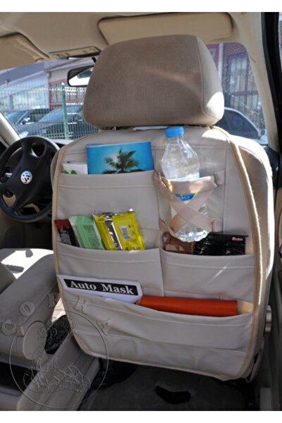 Araba Koltuk Arkası Organızer Ceplik Araç Eşya Düzenleyicisi + 5 Yıl Garanti