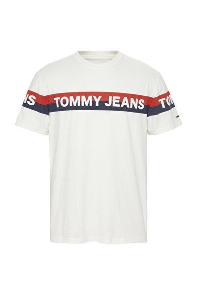 Erkek Double Stripe Logolu T-Shirt DM0DM07862