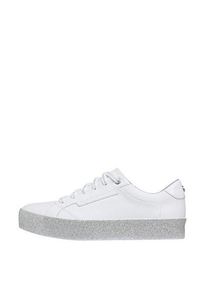 Kadın Beyaz Sneaker Glıtter Foxıng Dress Sneaker FW04849-0K5